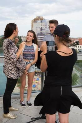 BalconyTV Vienna - Photos by Astrid Schwab